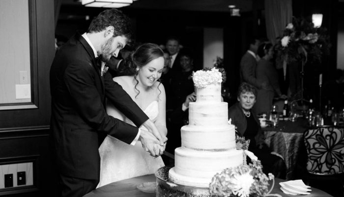 Cutting the cake at the Petroleum Club of Fort Worth. Lightly Photography 2012