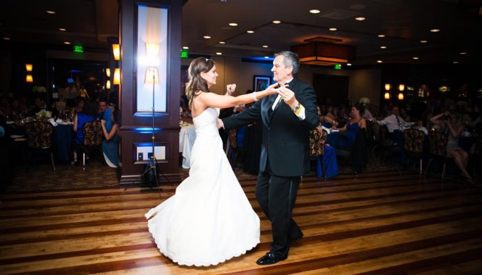First dance at a wedding reception at the Petroleum Club of Fort Worth. Lightly Photography 2012